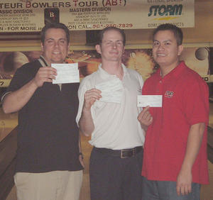 VALLEY CLASSIC DIV. WINNERS JANUARY 15 & 16, 2005 (L TO R)Tony Harper 2nd, Sheldon Kirkham CHAMPION, Luckee Son 3rd,