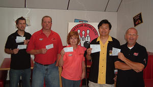 BONWOOD BOWL TOURNAMENT WINNERS  SEPT. 5 THRU 7, 2009   Chris Walker CHAMPION