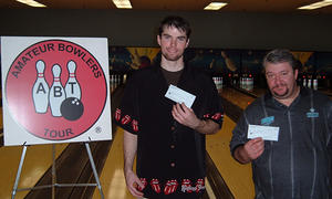 BONWOOD BOWL TOURNAMENT WINNERSNOV. 25 & 26, 2006(L to R) Cameron Foster CHAMPION, Shaun Goulding 2nd