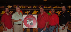 DAVIS LANES TOURNAMENT WINNERS JULY 12 & 13, 2008 Lanny Clelland CHAMPION