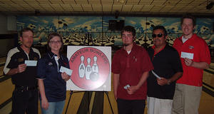 JACK & JILL LANES TOURNAMENT WINNERS DEC. 2, 2007  WARD DRAPER CHAMPION