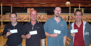 VALLEY LANES TOURNAMENT WINNERS FEB. 23 & 24, 2008  Larry Ashcroft CHAMPION