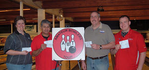 VALLEY LANES TOURNAMENT WINNERS JAN 9 & 10, 2010  Becky Huffman CHAMPION