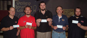 VALLEY LANES - WINNERS