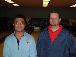 BONWOOD BOWL AUTUMN DOUBLES WINNERS 10-23-05Dave Sase & Bradley Bushnell