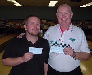 BONWOOD BOWL NO-TAP WINNERSAUGUST 26, 2006(L to R)Brian Shannon CHAMPION,Gordon Domgaard 2nd.